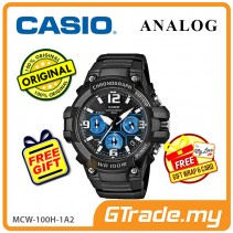 CASIO MEN MCW-100H-1A2 Analog Watch | Tough Looking Case