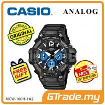 CASIO MEN MCW-100H-1A2 Analog Watch | Tough Looking Case