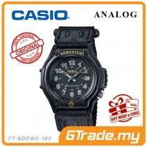 CASIO Men FORESTER FT-500WC-1B Analog Watch | Outdoor Series LED Light