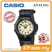 CASIO Men FORESTER FT-500WC-3B Analog Watch | Outdoor Series LED Light