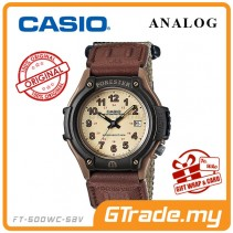 CASIO Men FORESTER FT-500WC-5B Analog Watch | Outdoor Series LED Light