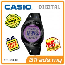 CASIO SPORT STR-300-1C Digital Watch | Running Series Pace Signal