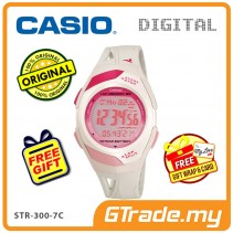 CASIO SPORT STR-300-7C Digital Watch | Running Series Pace Signal