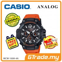 CASIO MEN MCW-100H-4A Analog Watch | Tough Looking Case