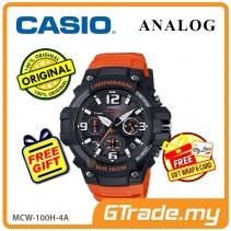 CASIO MEN MCW-100H-4A Analog Watch | Tough Looking Case