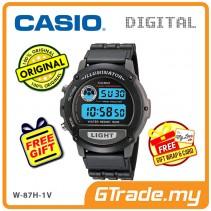 CASIO Men W-87H-1V Digital Watch | EL Backlight Daily Alarm