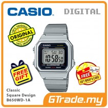 CASIO Men B650WD-1A Digital Watch | Classic Square Design [PRE]