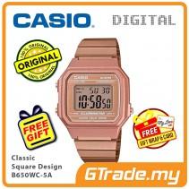 CASIO Men B650WC-5A Digital Watch | Classic Square Design