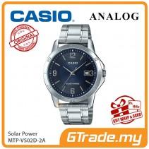 CASIO MEN MTP-VS02D-2A Analog Watch | Solar Power
