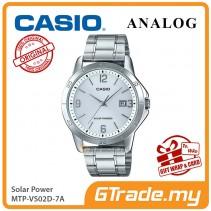 CASIO MEN MTP-VS02D-7A Analog Watch | Solar Power