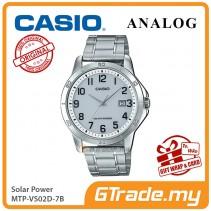 CASIO MEN MTP-VS02D-7B Analog Watch | Solar Power