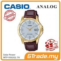 CASIO MEN MTP-VS02GL-7A Analog Watch | Solar Power