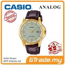 CASIO MEN MTP-VS02GL-9A Analog Watch | Solar Power