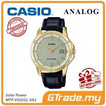 CASIO MEN MTP-VS02GL-9A2 Analog Watch | Solar Power