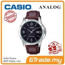 CASIO MEN MTP-VS02L-1A2 Analog Watch | Solar Power