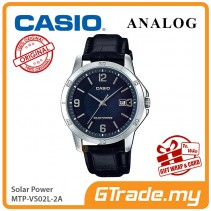 CASIO MEN MTP-VS02L-2A Analog Watch | Solar Power