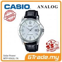 CASIO MEN MTP-VS02L-7A Analog Watch | Solar Power