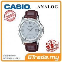 CASIO MEN MTP-VS02L-7A2 Analog Watch | Solar Power