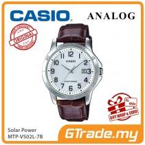 CASIO MEN MTP-VS02L-7B Analog Watch | Solar Power