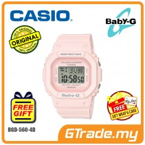 [READY STOCK] CASIO BABY-G BGD-560-4D Ladies Women Watch | Sharp Clean Image