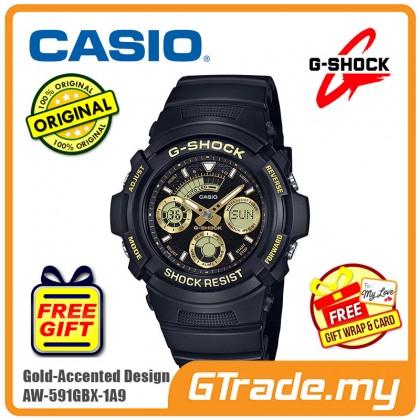 CASIO G-SHOCK AW-591GBX-1A9 Digital Watch | Gold-Accented Designs [PRE]