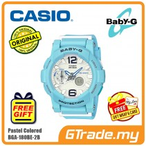 CASIO BABY-G BGA-180BE-2B Ladies Women Watch | Pastel Colored