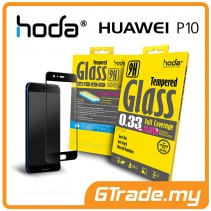 HODA 2.5D 0.33mm Tempered Glass Screen Protector Huawei P10 Black