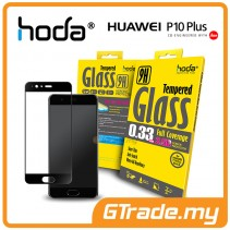 HODA 2.5D 0.33mm Tempered Glass Screen Protector Huawei P10 Plus Black