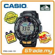 CASIO PRO TREK PRG-240-1D Digital Watch | Hiking Tough Solar Compass