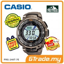 CASIO PRO TREK PRG-240T-7E Digital Watch | Hiking Tough Solar Compass