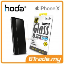 HODA 0.33mm Tempered Glass Screen Protector Apple iPhone X Clear