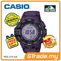 CASIO PRO TREK PRG-270-6A Digital Watch | Hiking Tough Solar Compass