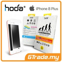 HODA 2.5D 0.21mm Evo Full Tempered Glass Screen Protector Apple iPhone 8 Plus 7 6S Plus White