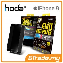 HODA 3D Anti-Peeper Screen Protector Apple iPhone 8 7 Black