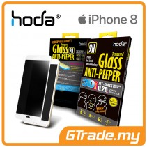 HODA 3D Anti-Peeper Screen Protector Apple iPhone 8 7 White