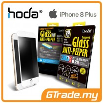 HODA 3D Anti-Peeper Screen Protector Apple iPhone 8 7 Plus White