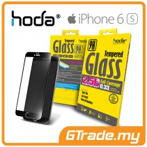 HODA 2.5D Tempered Glass Screen Protector Apple iPhone 6S 6 Black