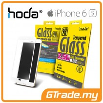 HODA 2.5D Tempered Glass Screen Protector Apple iPhone 6S 6 White