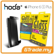 HODA 2.5D Tempered Glass Screen Protector Apple iPhone 6S 6 Plus Black