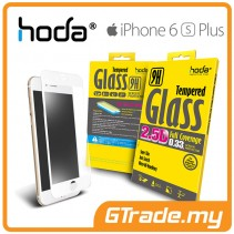HODA 2.5D Tempered Glass Screen Protector Apple iPhone 6S 6 Plus White