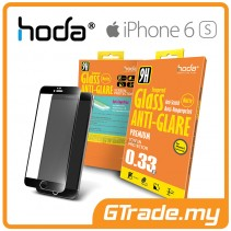 HODA Anti-Glare Tempered Glass Screen Protector iPhone 6S 6 Black