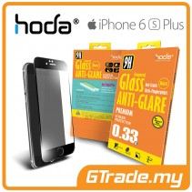 HODA Anti-Glare Tempered Glass Screen Protector iPhone 6S 6 Plus Black