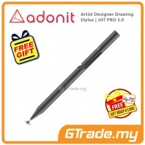 Adonit Jot PRO 3 Stylus Pen Professional Artist Drawing Designer Grey +Free Gift