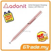 Adonit Jot PRO 3 Stylus Pen Professional Artist Drawing Designer Gold +Free Gift