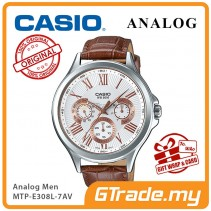 CASIO MULTI-HANDS MTP-E308L-7AV Mens Watch | Big Day Date Indicator