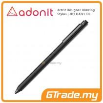 ADONIT Jot Dash 3 Stylus Pen Professional Artist Drawing Designer Black