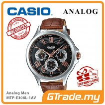 CASIO MULTI-HANDS MTP-E308L-1AV Mens Watch | Big Day Date Indicator