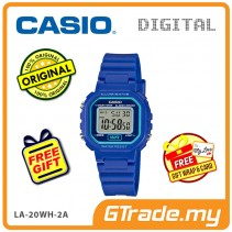 [READY STOCK] CASIO Kids Ladies LA-20WH-2AV Digital Watch |Small Cute Petit