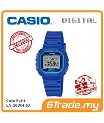 CASIO Kids Ladies LA-20WH-2AV Digital Watch |Small Cute Petit