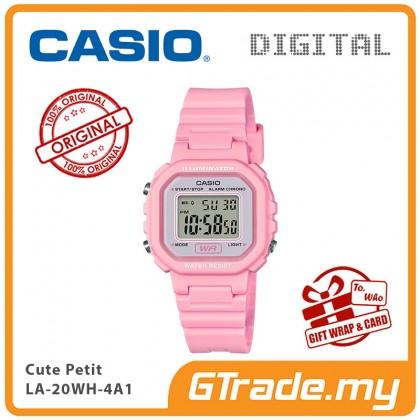 [READY STOCK] CASIO Kids Ladies LA-20WH-4A1V Digital Watch  Small Cute Petit